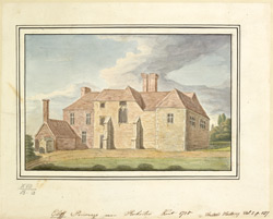 Cliff Parsonage, near Rochester Kent 1785